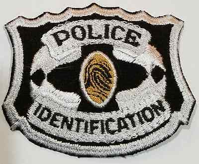 Police Identification ID Cloth Patch