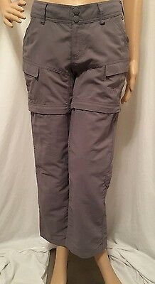 The North Face Hiking/Camping Convertible Zip-Off Women's Pants Size 2 Short 2 P