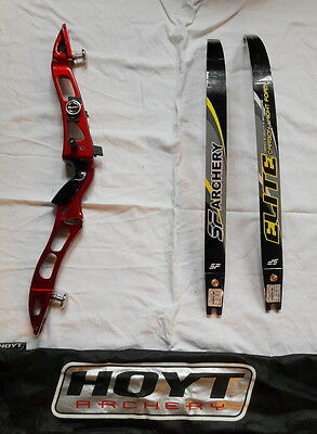 Arc  Hoyt  Archery  Horyzon  Droitier Branche Elite Carbonne