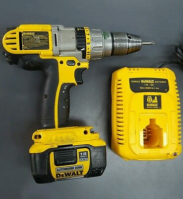 DeWalt DCD970-XE combi drill cordless 18v with Battery and Charger