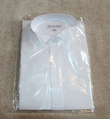 "'occasion' Formal Dress Shirt In Collar Size 15 1/2"" (39Cm) New In Bag"