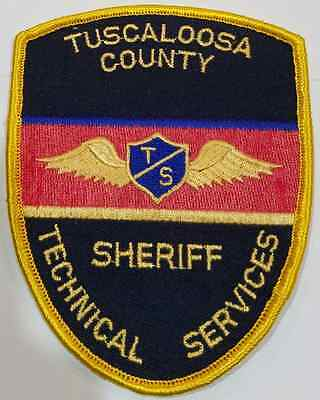 Tuscaloosa County Sheriff Technical Services Cloth Patch