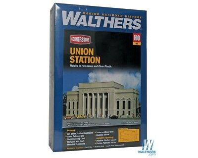 Union Station HO Building Kit - Walthers Cornerstone #933-3094 vmf121