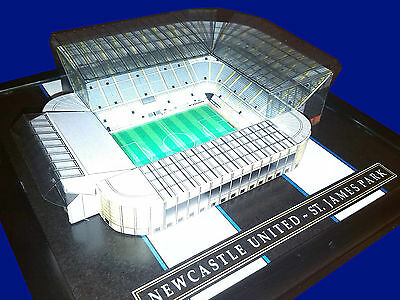 Newcastle St James Park Model Stadium With Working Floodlights
