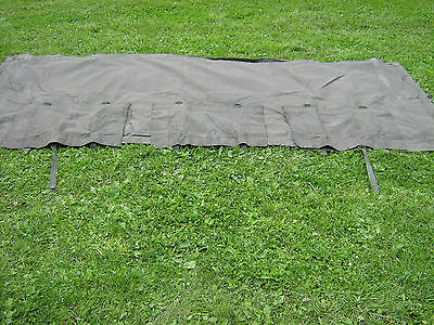 Army Bedford MJ Canvas, 4 ton. Front Cover. with window flaps.