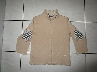 burberry  sweater cardigan  wool beige 100% authentic  6