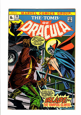 The Tomb Of Dracula 10 1ST Blade