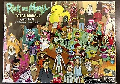 Rick & Morty Total Rickall Card Game - US Based Game Store - In Hand Now NEW
