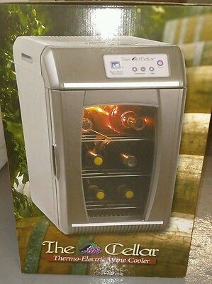 THE CELLAR Thermo-Electric Wine Cooler.