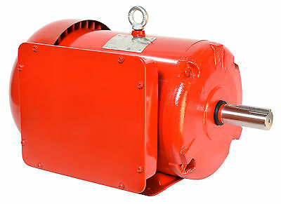 10 hp electric motor 215t 1 phase 1800 rpm enclosed severe duty compressor TEFC