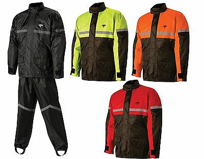Nelson Rigg SR-6000 Men's Motorcycle Rain Suit Hi visibility Yellow 2XLarge