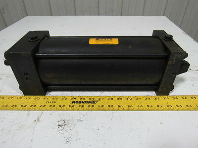 """Parker Pneumatic Air Tie Rod Cylinder 5"""" Bore 11"""" Stroke"""