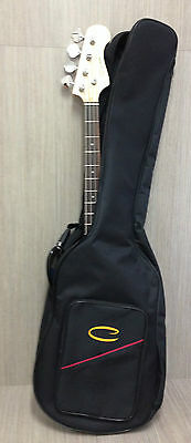 Double Straps 5mm Padded Electric Bass Guitar Gig Bag Soft Case Backpack EBG-49D