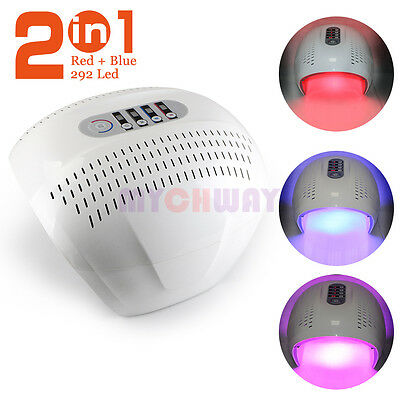 Infrared Light RED BLUE LED Photon Rejuvenation Skin Lifting Photodynamic Facial