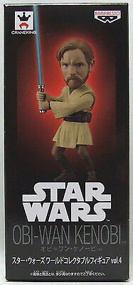 "BANPRESTO STAR WARS World Collectable Figure vol.4 "" Obi-Wan Kenobi "" SW019 WCF"