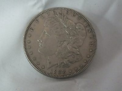 * U.s.a. Silver Morgan Dollar. Authentic