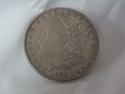 U.s.a. Silver Morgan Dollar. Authentic
