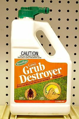 Brunnings LAWN GRUB DESTROYER 2Ltr Lawn Grub Killer