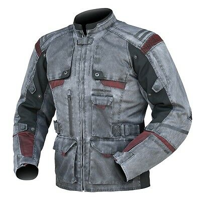Dririder Scout vintage mens textile motorcycle jacket size large