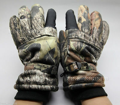2017 Camo Hunting Waterproof Windproof Breathable Insulated Tactical Glove