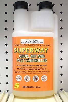 Superway Grub Ant and Pest Controller 1Ltr