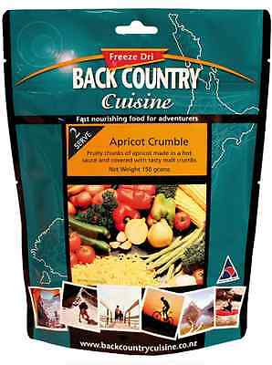 Back Country Cuisine freeze dri camping food apricot crumble