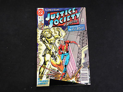 Justice Society of America #1 - featuring The Flash (Apr 1991 DC)