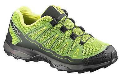 Running shoes Childrens shoes Trainers Salomon X-Ultra K,yellow/green,EAN