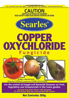 Searles Copper Oxychloride Fungicide 200G