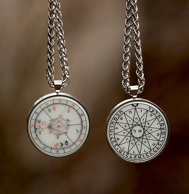 HIT personal Talisman Cosmogram & Solomon seal double sided HQ AMULET SET chain