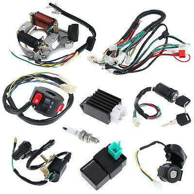 Harness Assembly Wiring Set ATV Electric Quad Coolster 50/70/90/110CC CDI Wire