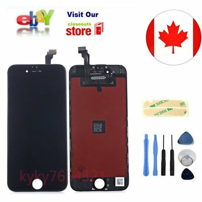 """LCD Touch Screen Digitier Display Replacement For iPhone 6 4.7"""" Black New"""