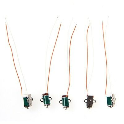 5pcs DC 5V 6V Miniature Solenoid Push Pull Type Inhaled Micro Electromagnet New