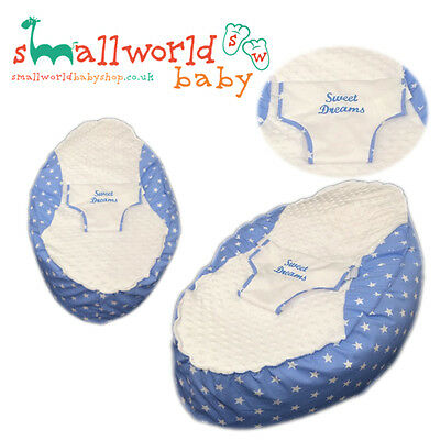 Personalised Blue Star Baby Bean Bag (NEXT DAY DISPATCH)