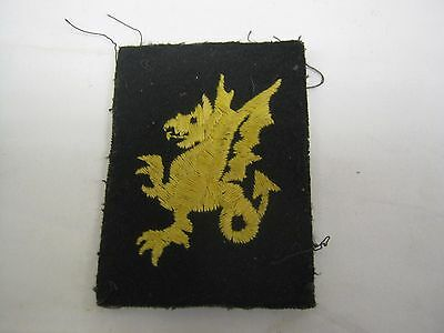 BRITISH army DIVISION OR FORMATION cloth PATCH BADGE 43RD WESSEX