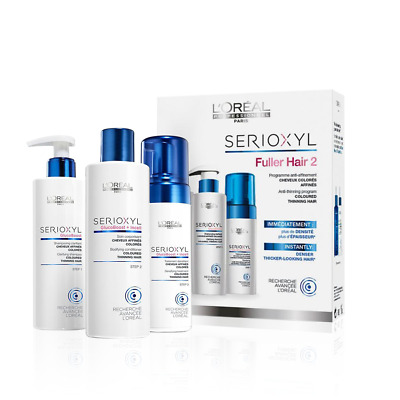 L'Oreal Professionnel Serioxyl 2 Kit Coloured Hair 3