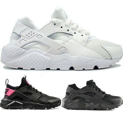 Womens Ladies Sports Fitness Lace Up Running Nike Air Huarache Trainers Shoes UK