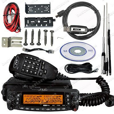 TYT TH-9800 Quad Band Auto/Mobile Lkw Radio Transceiver +Antenne +Kabel B0628