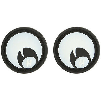 Maxpedition Googly Eyes Rubber Patch Badge Pack Of 2 Glowing in the Dark