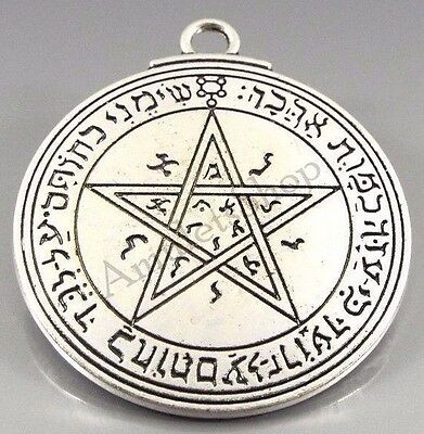 Medallion Pentacle Seal of VENUS Talisman Amulet of King Solomon. 2 faces