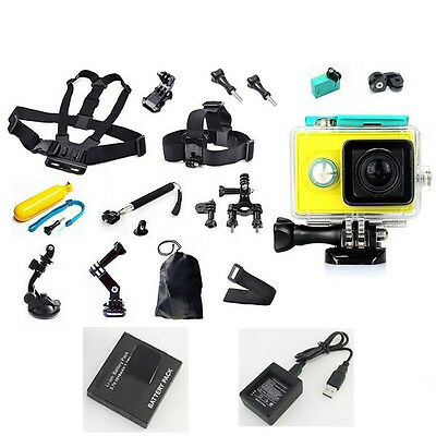 Accessories Kits Waterproof Case Chest Head Mount Strap for Xiaomi Yi Camera
