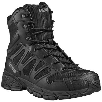 Magnum Uniforce 8.0 Tactical Security Boots Army Police Mens Footwear Black