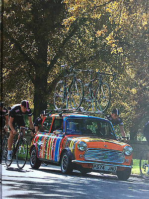 """PAUL SMITH """"Mini with Team Sky Rapha Cyclists"""" Small Notebook Jotter bag"""