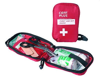 Handy BASIC Emergency 1st Aid Kit CARE PLUS Travel Sports Kitchen Outdoor First
