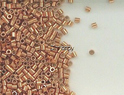 Solid Copper 2x2mm Round Crimp Tube Beads, Choice of Lot Size & Price