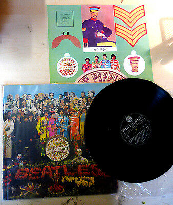 """Lp The Beatles """"sgt. Pepper's Lonely Hearts Club Band"""" Pmcq31512 Parlophon Italy"""