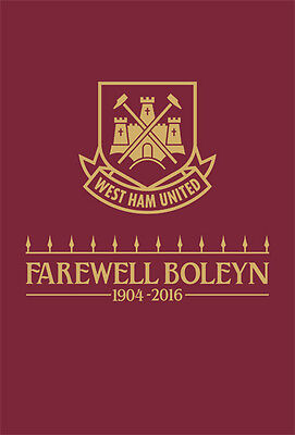 West Ham United V Manchester United - Official Programme- 10Th May 2016