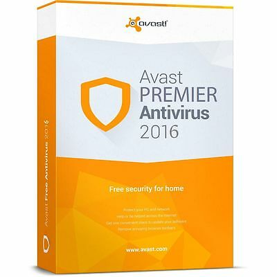 Avast Premier 2016 Software Key License file to 2022