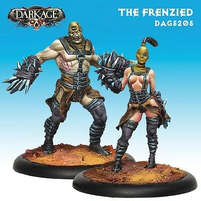 Dark Age Outcast The Frenzied miniatures 35mm new