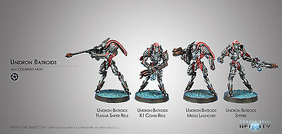 Infinity Corvus Belli Unidrons Combined Army metal new